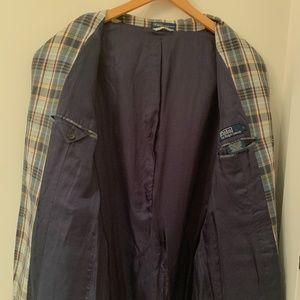 Polo by Ralph Lauren Suits & Blazers - Polo Ralph Lauren madras plaid jacket blazer
